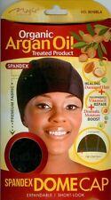 Magic - ** Organic Argan Oil** Treated Spandex Dome Cap With Wide Elastic #3016B