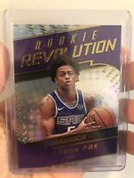 2017-18 Panini Revolution Rookie Revolution #13 De'Aaron Fox Rc Sacramento Kings