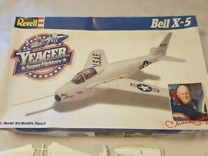 Revell Yeager Super Fighters 1/40 scale model kit Bell X-5 #4566