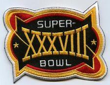 NFL CHAMPIONSHIP GAME HOUSTON SUPER BOWL XXXVIII SUPERBOWL NEW ENGLAND PATRIOTS