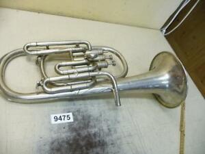 9475. Alte Trompete Blasinstrument Musik Instrument Musikinstrument Deko