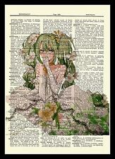 Hatsune Miku Vocaloid Dictionary Art Print Poster Picture Manga Japanese Anime