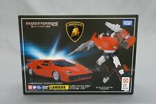 Transformers Masterpiece MP-12+ Figure Lambor Red Animation Color Takara Tomy