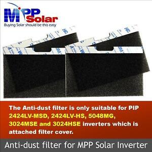 Anti-dust filter 4PCs for MPP Solar 5048MG 2424LV-MSD 2424LV-HS 3024HSE inverter