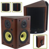 "DCM by MTX Audio 6.5"" Bi-Pole Bookshelf Wall Mount Home Theater Speakers Pair"
