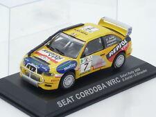 1:43 Ixo Seat Cordoba WRC Safari Rally 2000 n Cupra FR GTi Car Didier Auriol