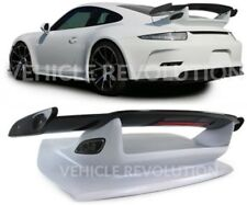 Porsche 911 991 GT3 Style Carbon Fibre Frp Trunk Rear Wing Spoiler 2011 - 17