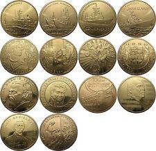 Polen - 14 x 2 zl Golden Nordic 2013 Kompletter Jahrgang alle Gekapselt