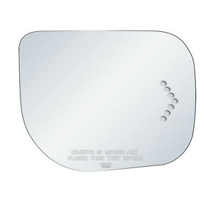 Passenger Side Mirror Glass Fits Infiniti QX56 Nissan Armada Signal Adhesive RH