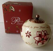 "Pavilion Gifts MAY THE JOY OF THE SEASON BRING WARMTH... Tea Light Holder ""76069"