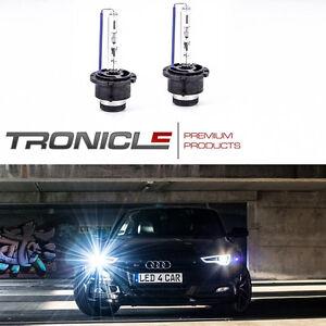 Set D2S Xenon Birne, 2 x Xenon Brenner D2S Peugeot 407 Coupe 6000K Tronicle®