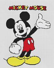 Mickey Mouse 3 puntada cruzada contada Kit De Película/Personajes De Disney
