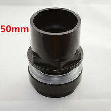New Good 50mm Black DIY PVC Plastic Pipe Connector Port For Fish Tank Pump
