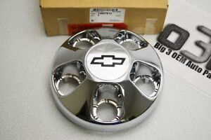 1996-2000 Chevrolet Astro Wheel Center Hub Cap Chrome Bow-Tie new OEM 15697613