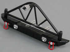 Axial SCX10 RC Truck REAR  METAL BUMPER W/ Tire CARRIER  + LED Lights