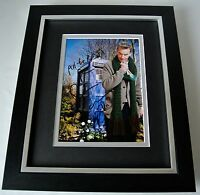 Peter Capaldi SIGNED 10X8 FRAMED Photo Autograph Display TV Doctor Dr Who & COA