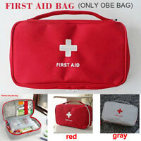 Portable First Aid Kit Emergency Medical Bag Home Car Outdoor Hiking Survival