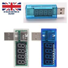 USB potenza corrente VOLT metro tester Monitor Lettore TEL TABLET CHARGER doctor