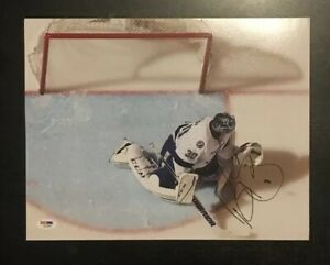 Ben Bishop Signed Autographed Glossy 11x14 Photo Tampa Bay Lightning
