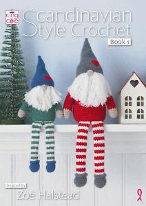 King Cole Scandinavian Style Crochet Book 1