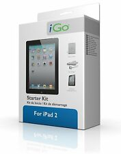 iGo Starter Kit for iPad TPU Case • Screen protector • Car Charger - Apple Cert