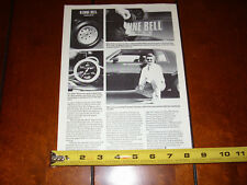 BUICK GRAND NATIONAL JIM D'ALESSANDRO KENNE BELL - ORIGINAL 1989 ARTICLE