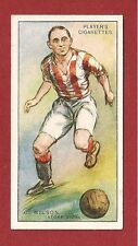 Stoke City FC  CHARLIE WILSON The POTTERS Spurs Huddersfield 1928 original card