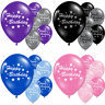 Happy Birthday Party Celebration Latex Printed Balloons Decorations