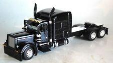 """DCP BLACK PETERBILT 379 70"""" MID ROOF SLEEPER CAB 1/64 60-0525 C"""