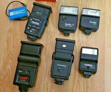Camera Flash Bundle. Hanimex, Cobra, Centon, Starblitz, National.