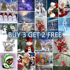 5D DIY Diamond Painting Cross Stitch Embroidery Christmas Santa Truck Art Gifts