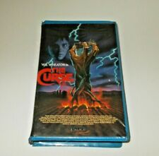 The Curse  VHS Big Box Ex Rental Palace Original clam will Wheaton