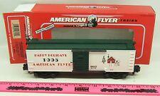 American Flyer ~ 6-48323  1995 American Flyer Christmas boxcar