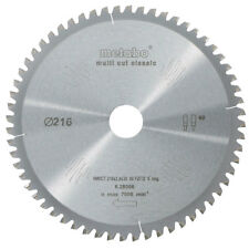 Metabo Kreissägeblatt Multi Cut Classic 60 Zähne 216x30 mm für Kappsäge KGS 216M