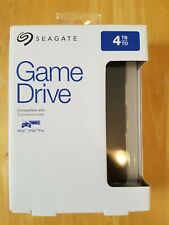 SEAGATE Gaming Portable Hard Drive for PS4 - 4 TB, Black -