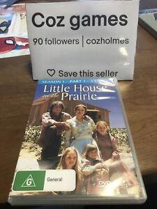 Little House On The Prairie : Season 1 : Part 1 DVD Australian Release Drama Tv