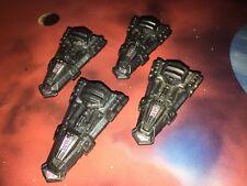 Star Trek Micro Machines Lot X4 Numiri Space Ship Wars TNG Fleet RARE!!!
