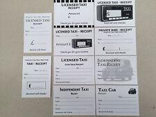 Le spese di TAXI incassi BIANCHI - 10 disegni differenti, 100 CAB incassi in totale