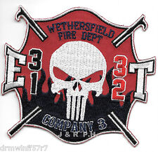 """Wethersfield Engine-31 / Truck-32, CT  (4.25"""" x 4"""" size) fire patch"""