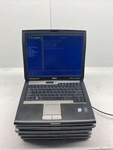 Lot Of 5 Dell Latitude D520 C2D 1.66/2 GHz 512 MB RAM No HDD No OS 4 Good/1Parts