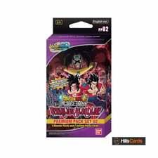 Dragon Ball Super Card Game Vermilion Bloodline Premium Pack Set | DBS-PP02 Z UW