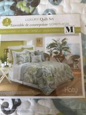 Queen KATY luxury Quilt And Shams Set