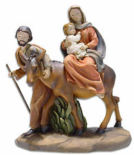Krippenfiguren Weihnachtskrippe Krippen-block handbemalt Größe 11,6 cm