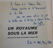 Signed by Henri Queffelec Un Royaume Sous La Mer 1957