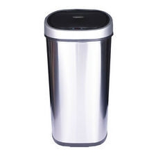 50L Sensor (No-touch) Stainless Steel Waste Bin, (WITH BATTERIES)