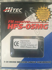 Hitec FM receiver HFS-05MG 5 Channel single conversion