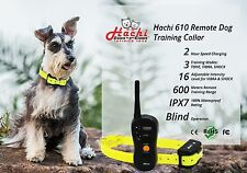 Hachi PRO 610 Remote Pet Trainer Dog Training Collar w/Blind Operations, No Bark
