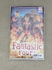 Marvel Fantastic Four #1 Signed Alex Ross