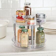 Kitchen Storage & Organization Accessories MDesign 2-Tier Lazy Susan Turntable
