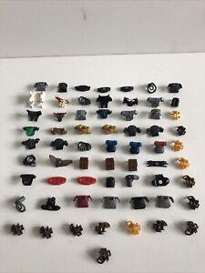 Huge Lego Minifigure Armour , Back Pack Accessory Bundle X64 Pieces Castle